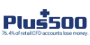 plus500 logo